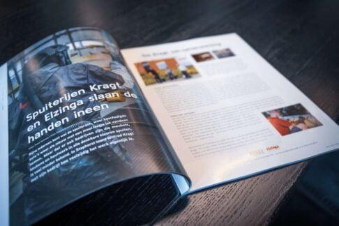 Elzinga in ondernemersmagazine Trots op Staphorst